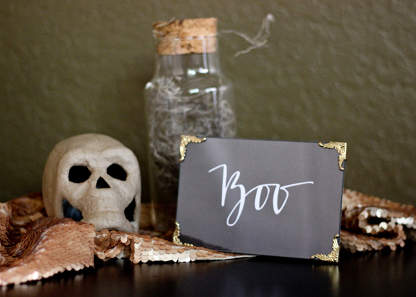 Free Printable BOO Sign | A Fabulous Fete