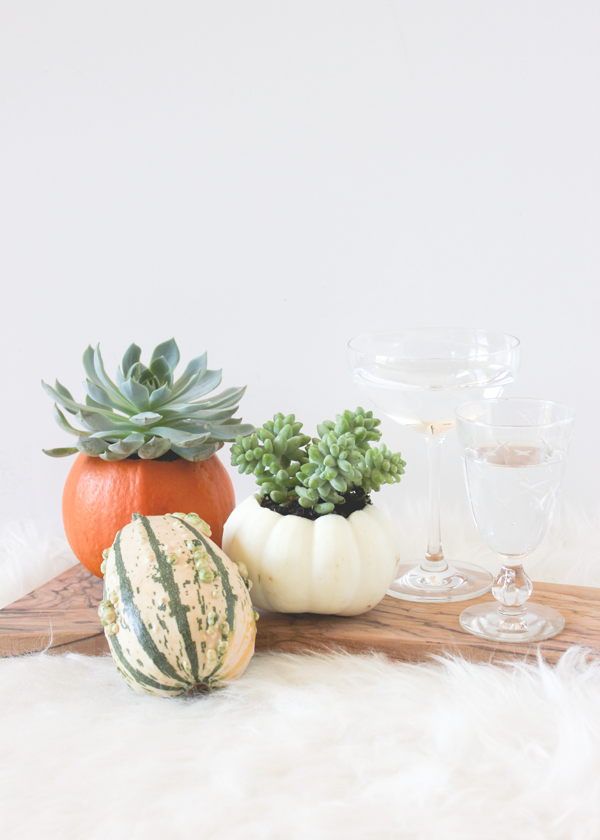 Mini Pumpkin Vase | A Fabulous Fete