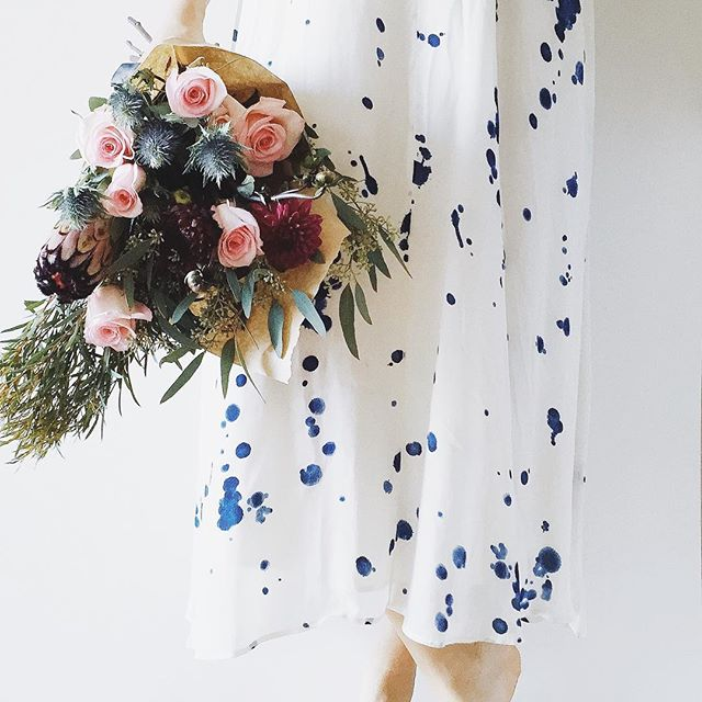 Watercolor Anthropologie Dress | A Fabulous Fete