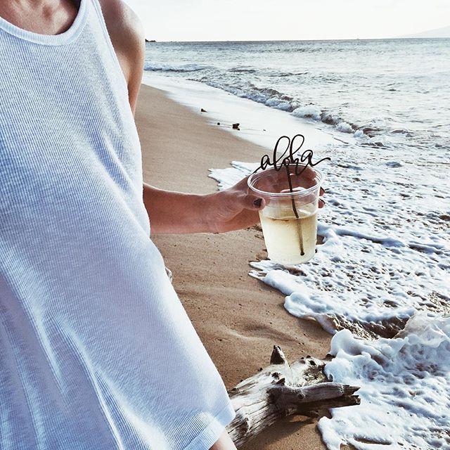 Aloha Drink Stirrers | A Fabulous Fete