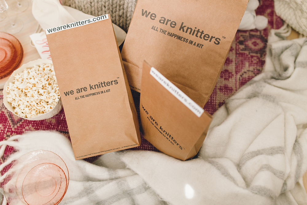 We Are Knitters kits | A Fabulous Fete