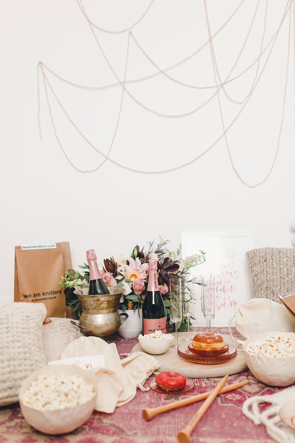 Indoor picnic party | A Fabulous Fete
