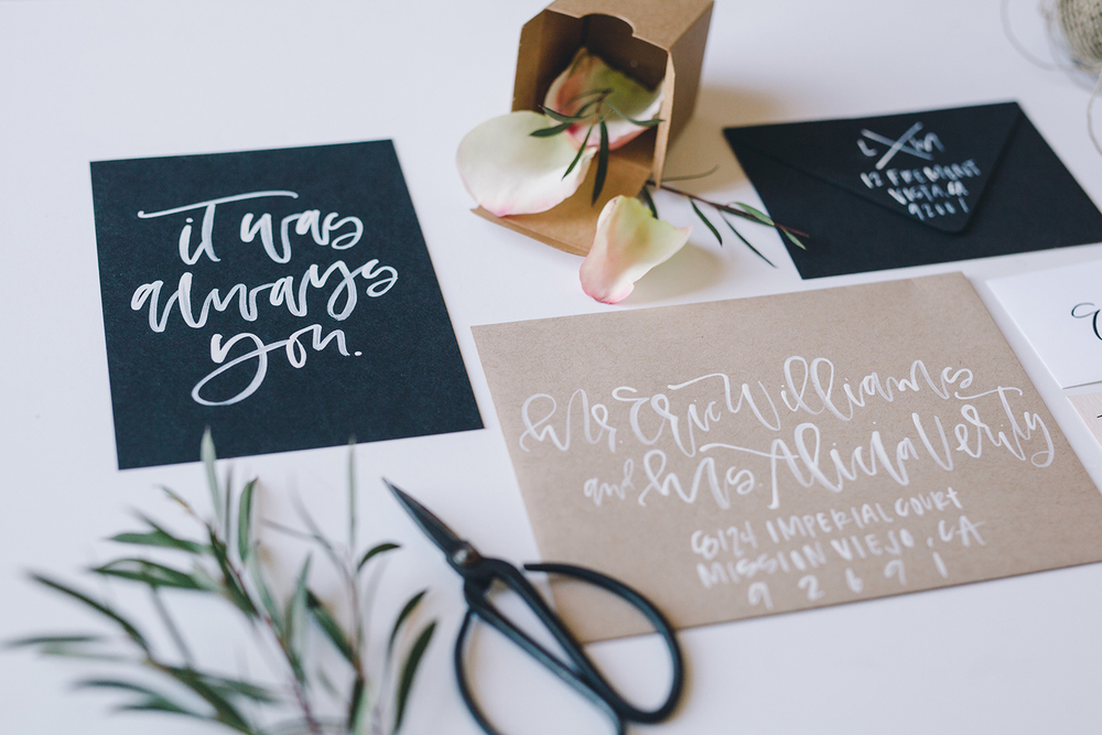 It was always you custom print | A Fabulous Fete