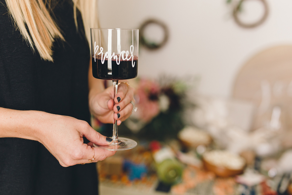 Learn how to mark your glasses for holiday parties without ruining them | A Fabulous Fete