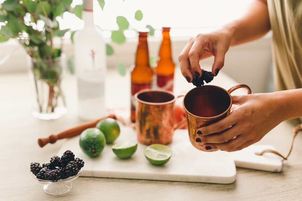 My favorite ingredients for a moscow mule | A Fabulous Fete