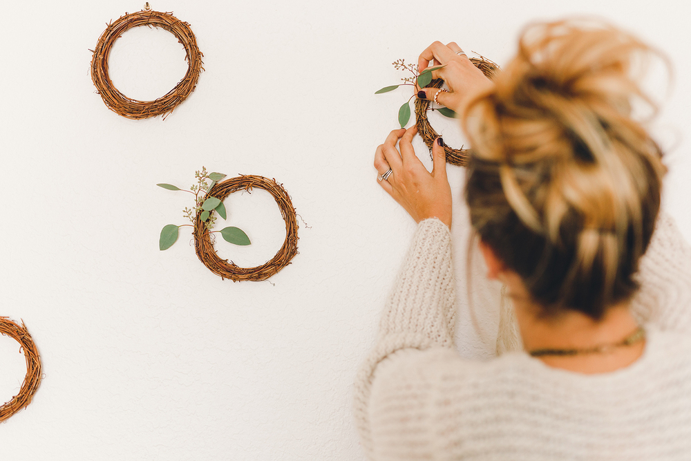 Add one sprig of eucalyptus to make simple decor on a budget | A Fabulous Fete