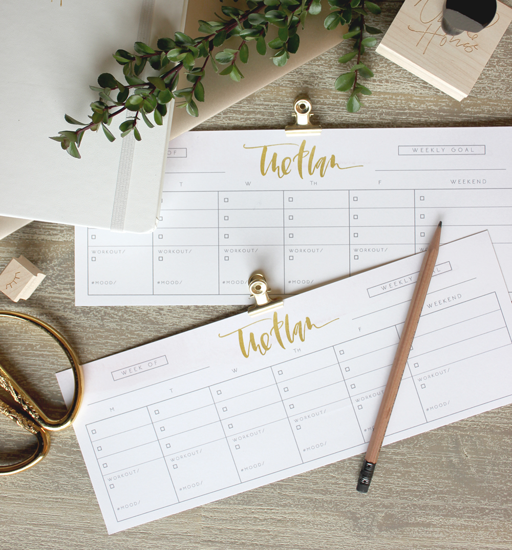 Free Weekly To-Do List Printable by Wilde House Paper | A Fabulous Fete