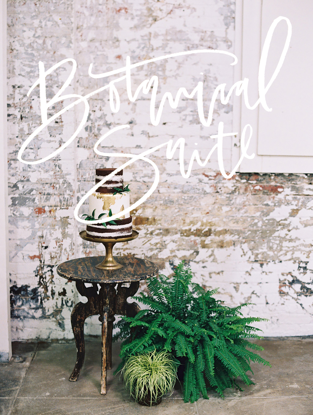 Botanical wedding invitation suite | A Fabulous Fete