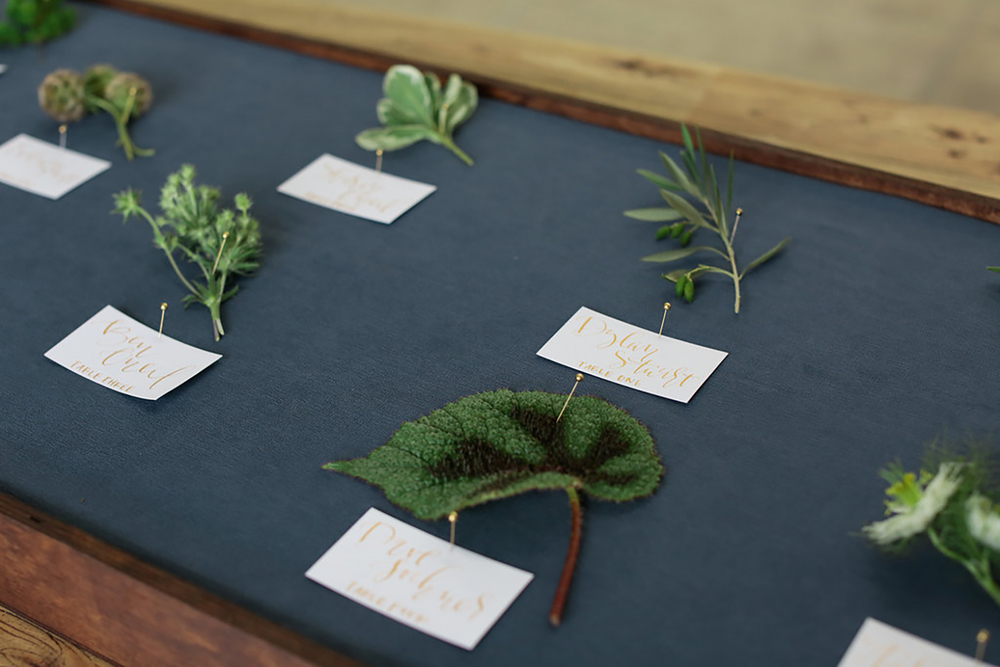 Escort card display | A Fabulous Fete