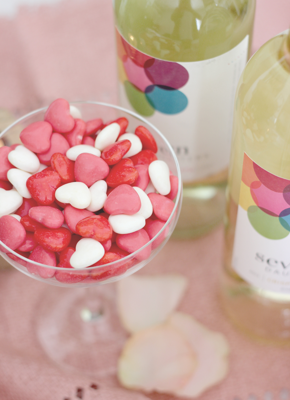 Heart shaped candy as decor | A Fabulous Fete