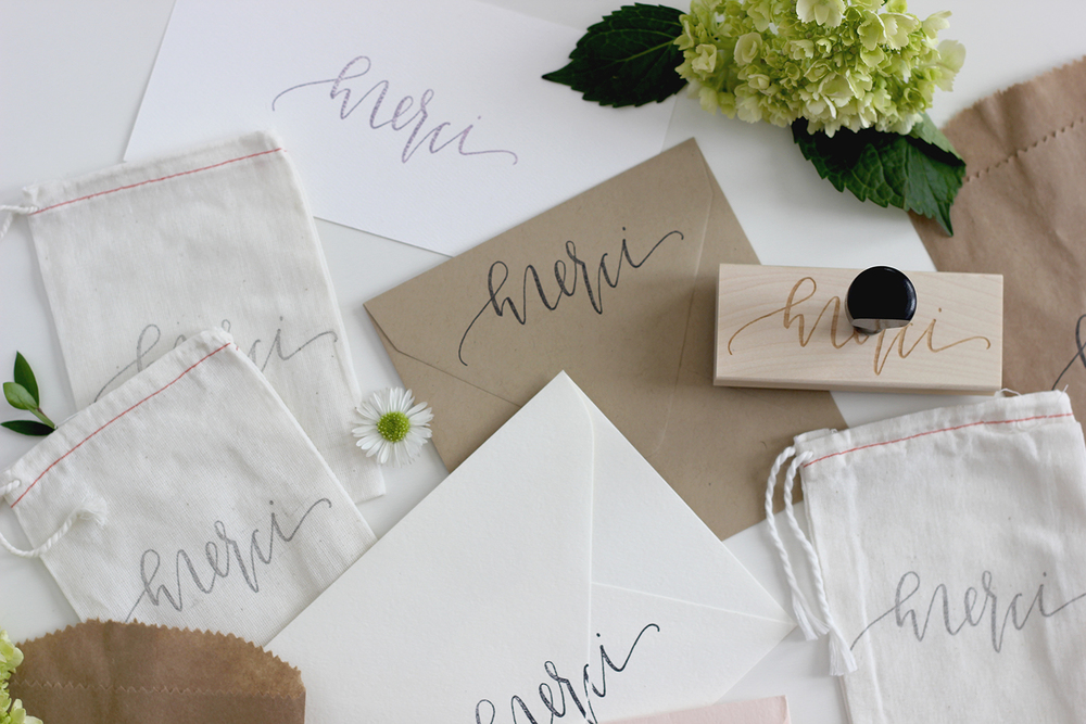 Handdrawn Calligraphy on Envelopes | A Fabulous Fete