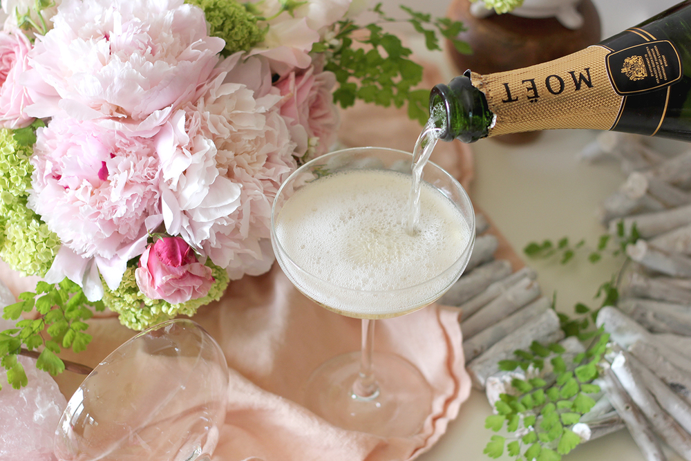 Flowers and Champagne | A Fabulous Fete