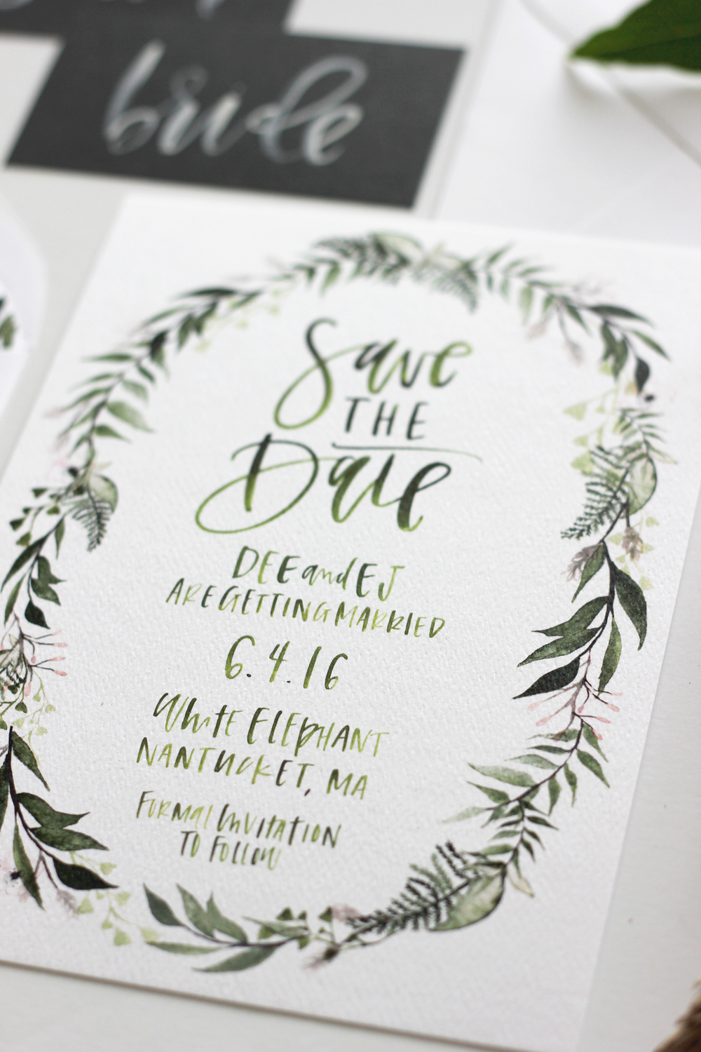 Custom Wedding Stationary | A Fabulous Fete