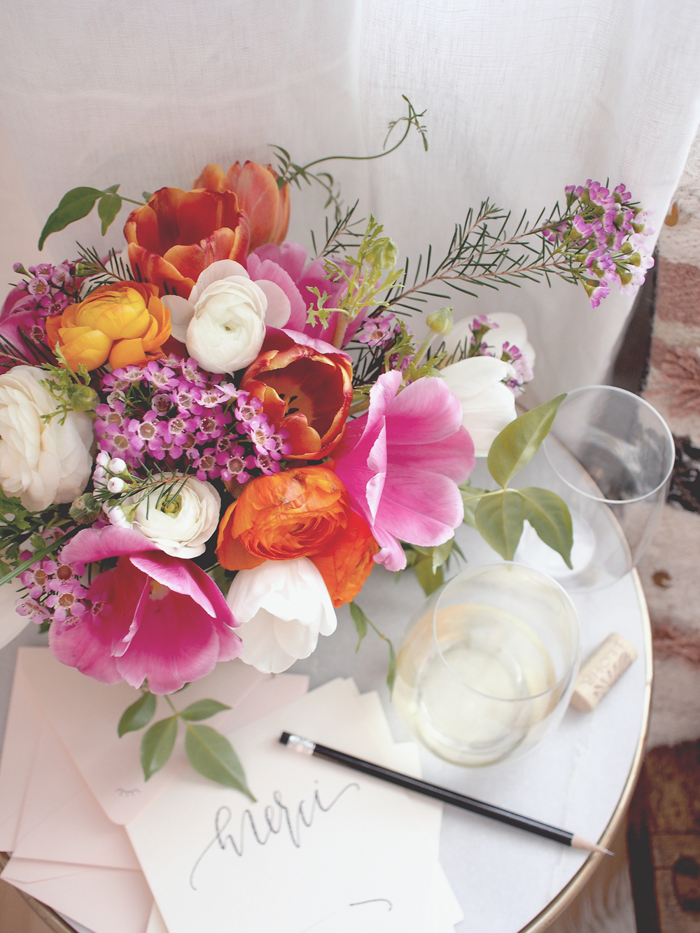 Tips for creating flower arrangments | A Fabulous Fete