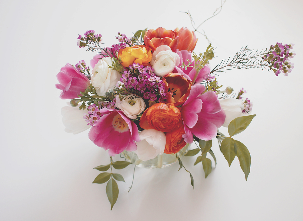 Spring flower arrangement inspiration | A Fabulous Fete