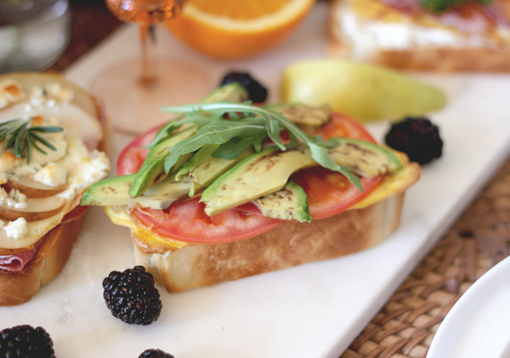 Try this toast trio at your next brunch | A Fabulous Fete