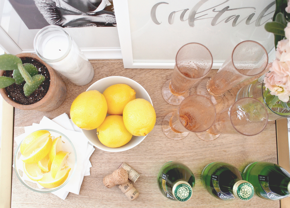 Neccessities for your bar cart | A Fabulous Fete