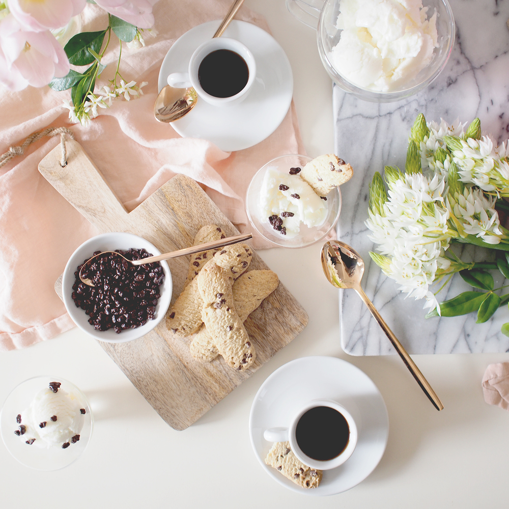 How to create an affogato bar for your mother's day celebrations! | A Fabulous Fete