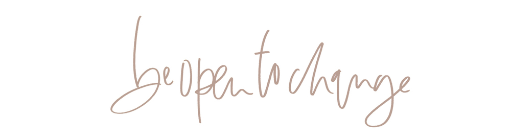 be open to change | a fabulous fete
