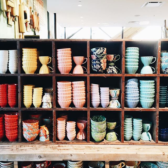 Bowl selection at Anthropologie | A Fabulous Fete