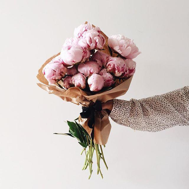 Fresh Peony Bouquet | A Fabulous Fete