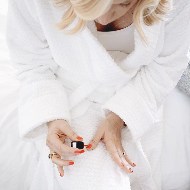 Spa day with a diy nail bar | A Fabulous Fete