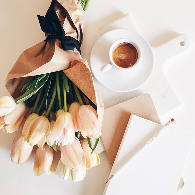Tulips and espresso | A Fabulous Fete