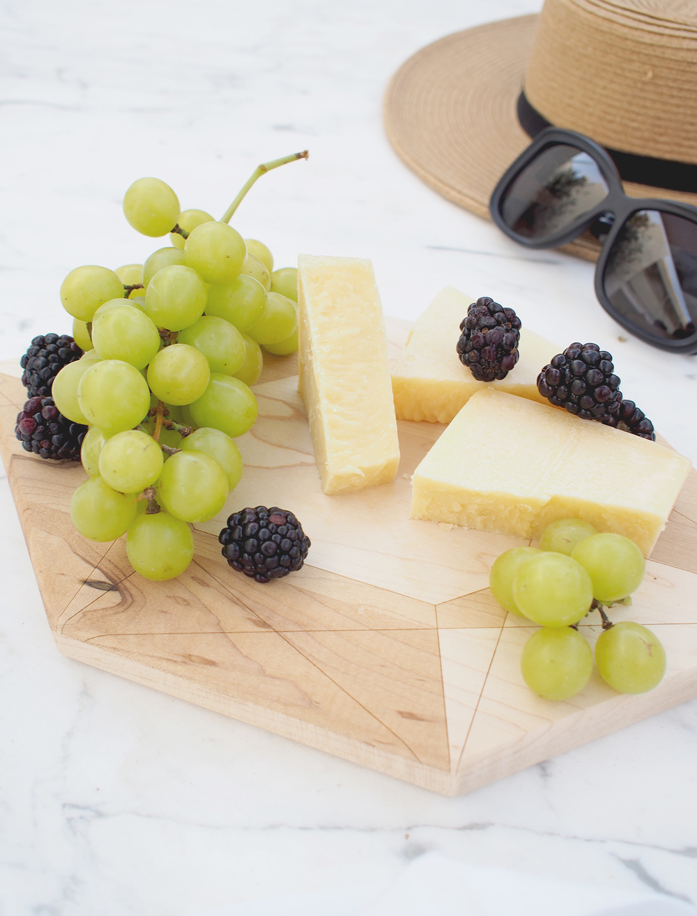 Shop Tabled cheeseboard, small enough for tucking in your carry on or weekend bag!  | A Fabulous fete
