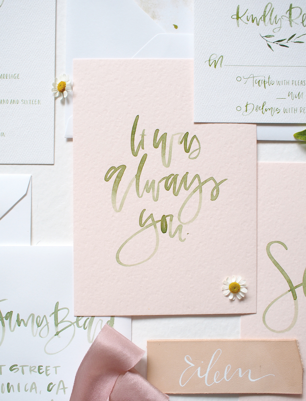 wedding quotes hand lettered | A Fabulous Fete