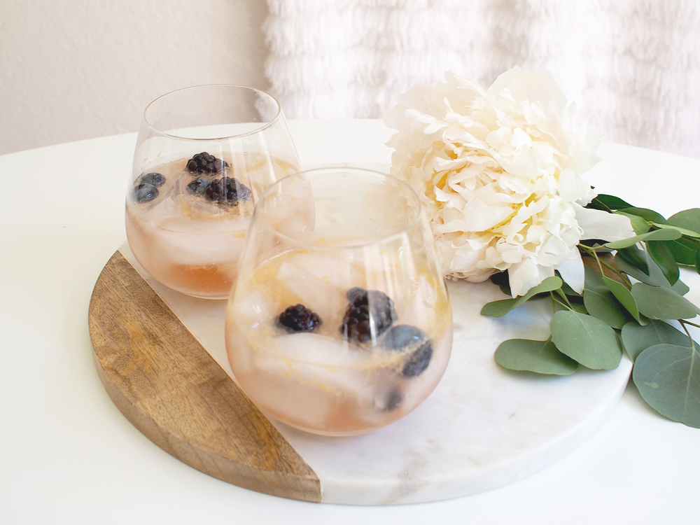 sparkling drink recipe | a fabulous fete