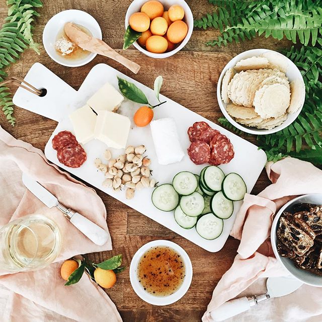 Sunday funday cheeseplate | A Fabulous Fete