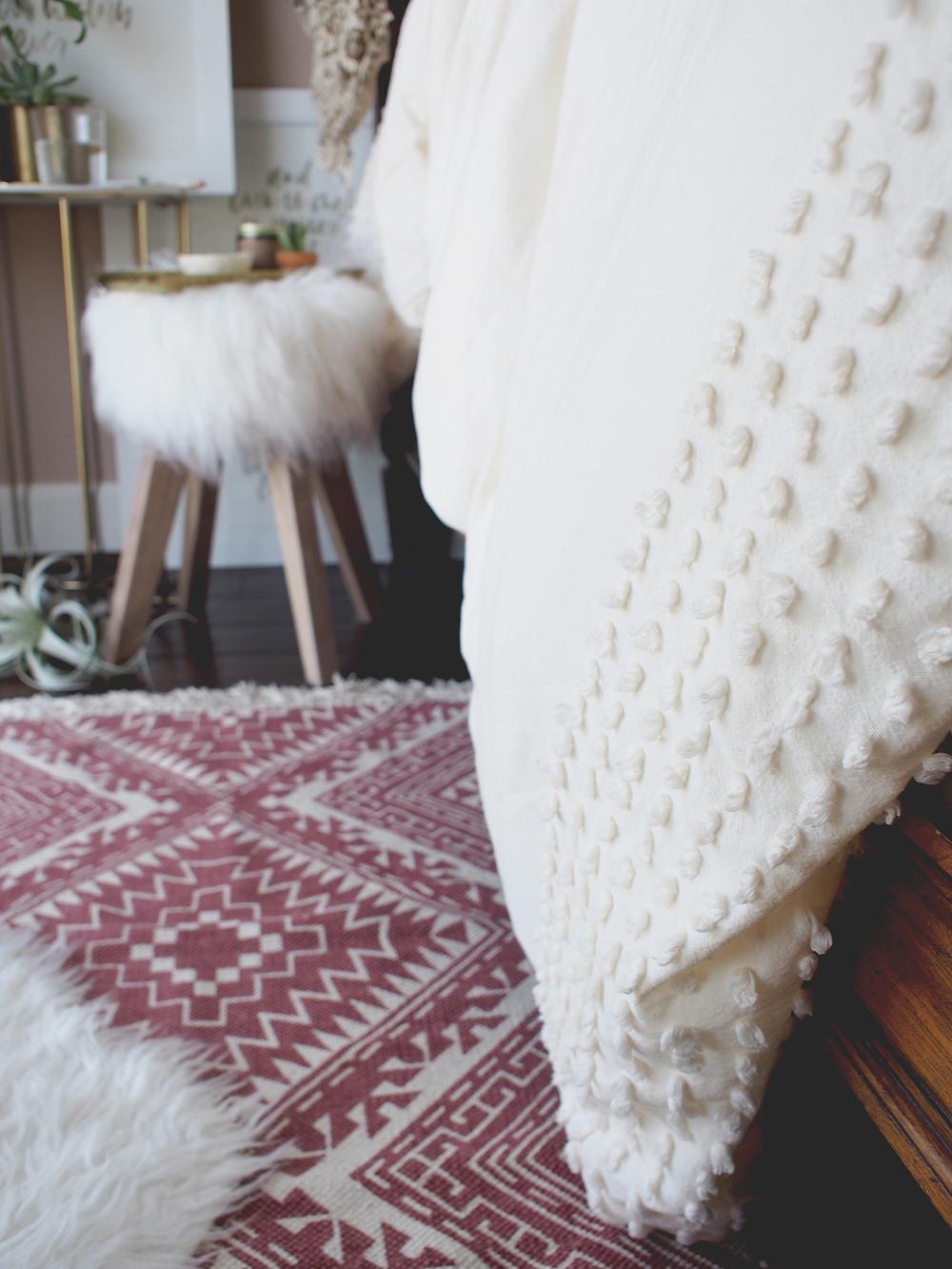 Plum & Bow Bedding detail | A Fabulous Fete
