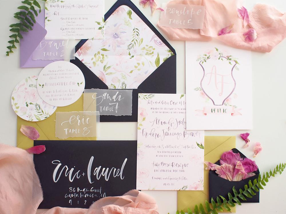 custom floral wedding suite | A Fabulous Fete