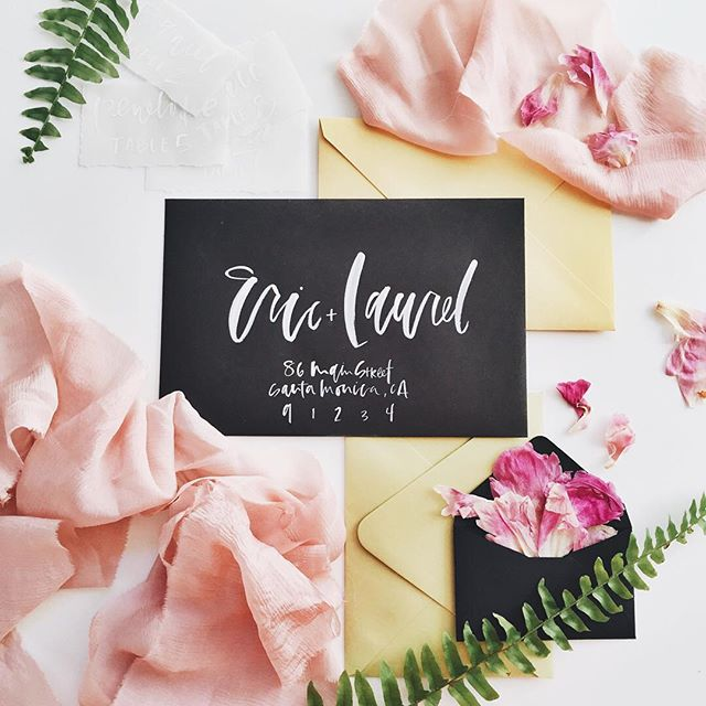 black wedding envelopes.jpg