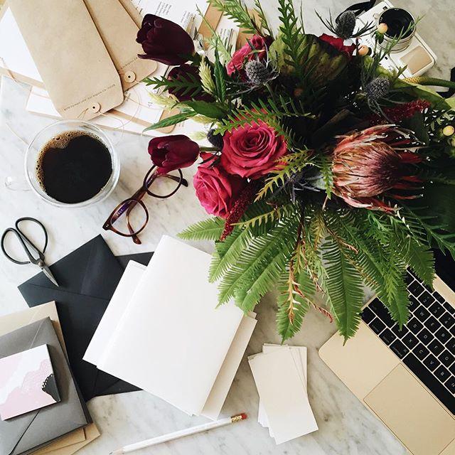 tropical arrangement in the office.jpg
