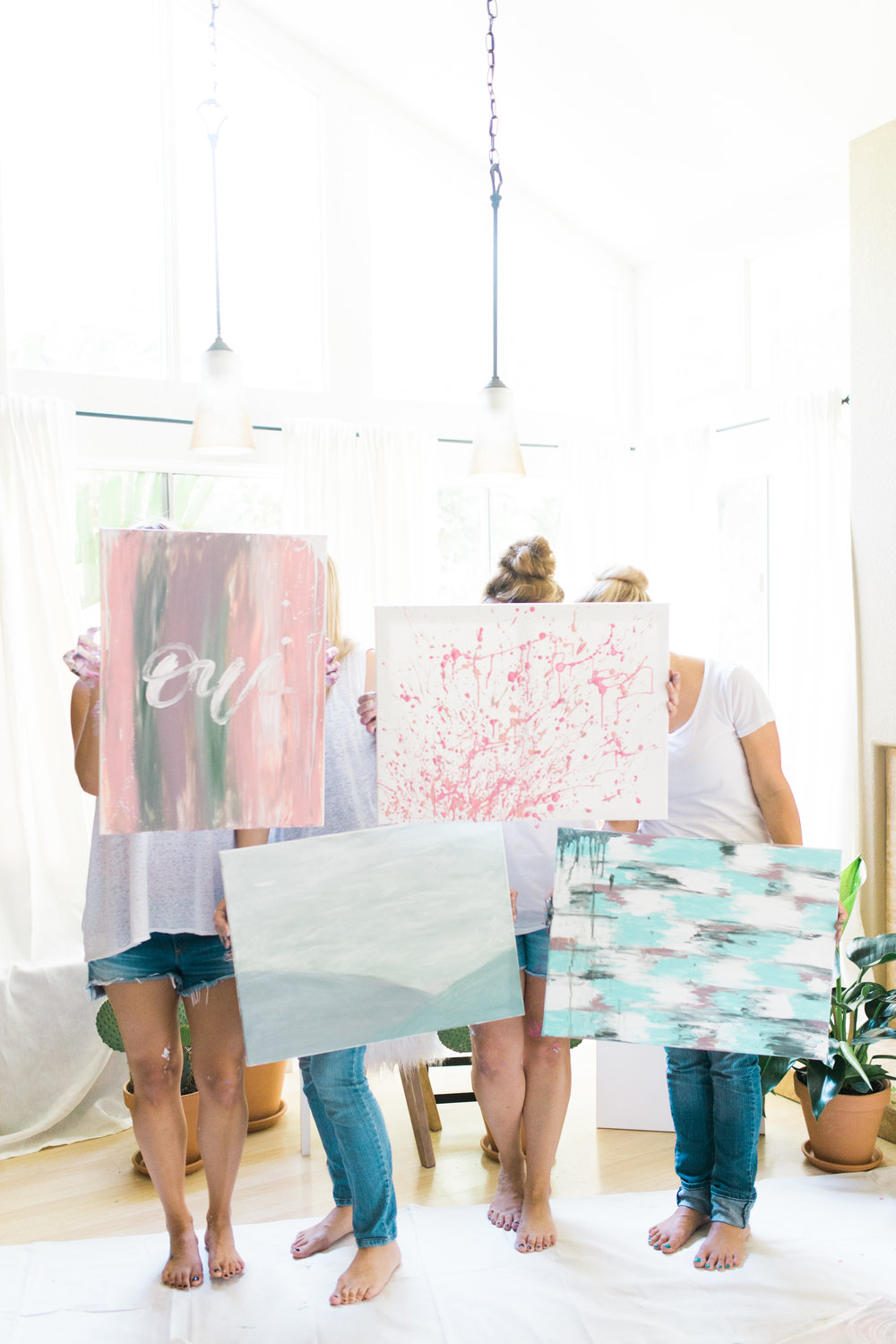 Painting party art | A Fabulous Fete