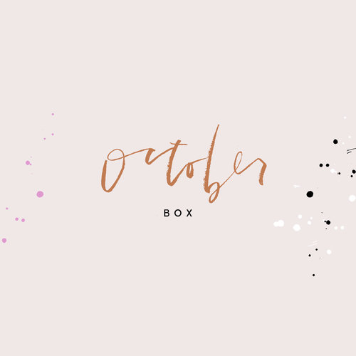 October Box from Wilde House Paper - Summer is over so get our 'Back to Work' box and deck out your office!