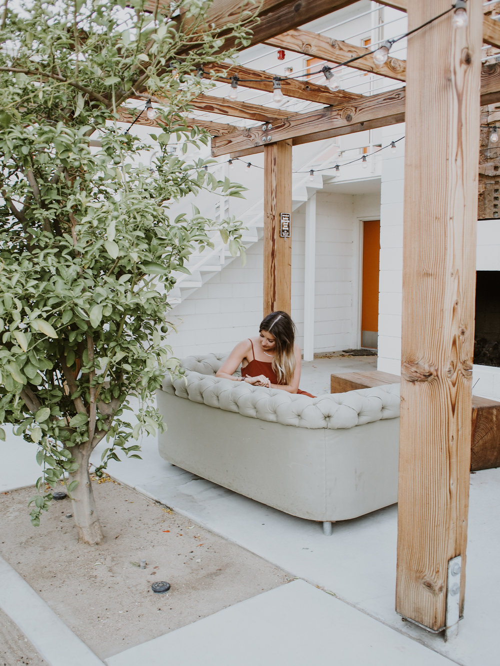 Cozy spots at The Ace in Palm Springs | A Fabulous Fete