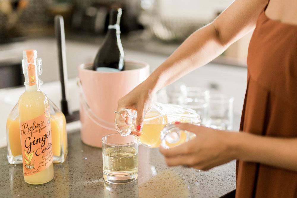 Mimosa bar | A Fabulous Fete