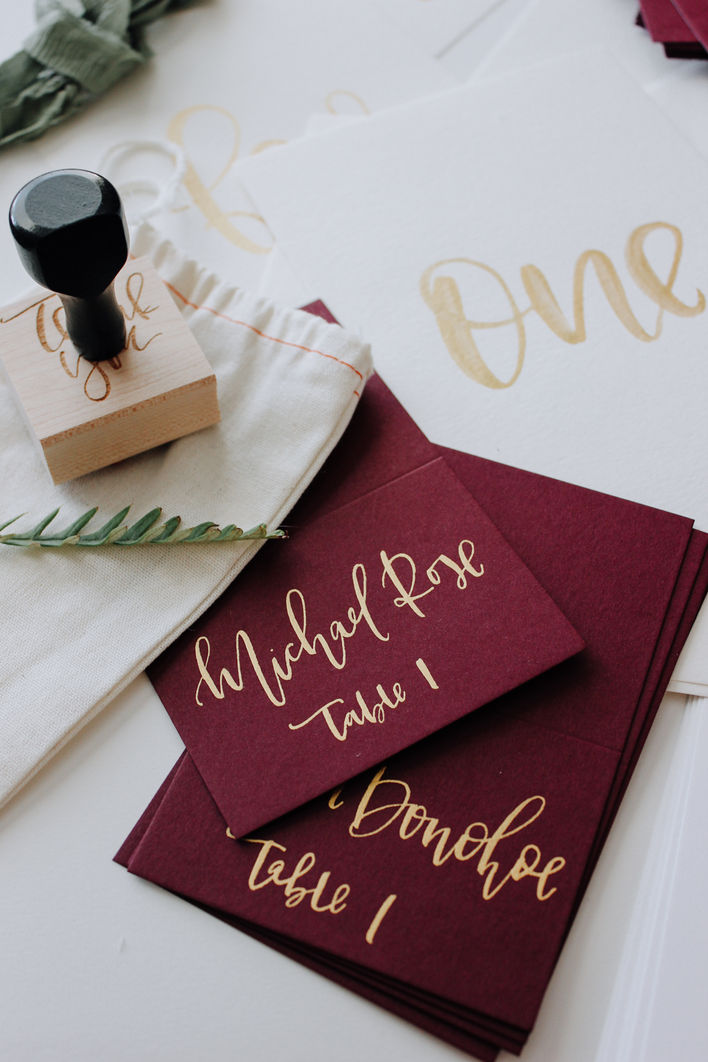 Burgundy wedding stationery for Fall | A Fabulous Fete