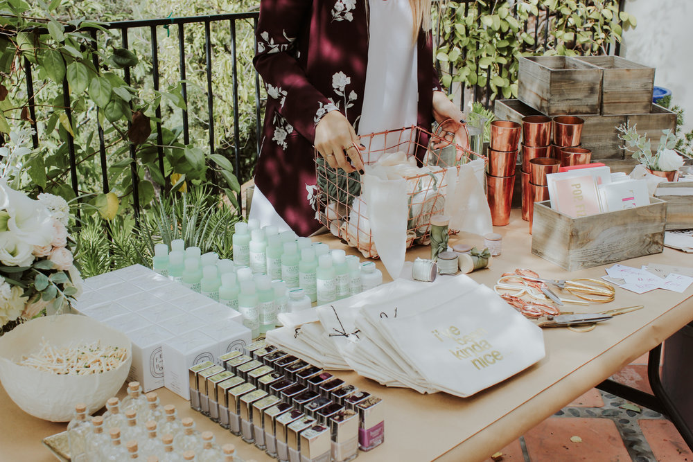 Products galore from HauteLook to stuff hostess gift boxes | A Fabulous Fete