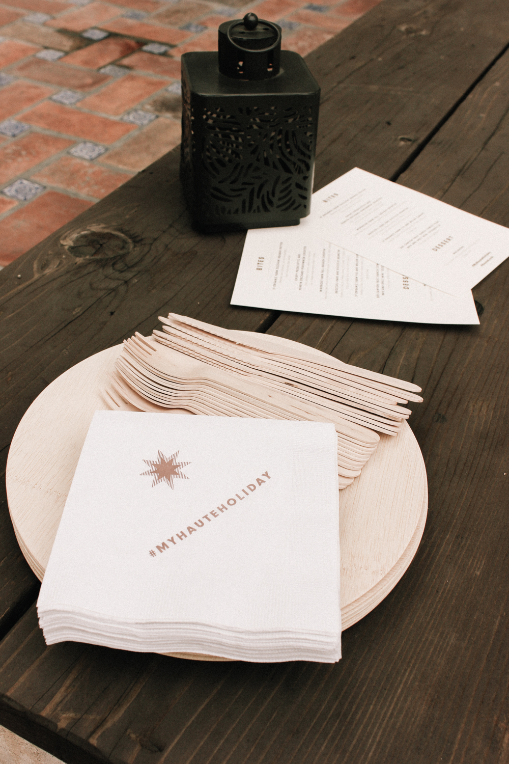 Customized event napkins | A Fabulous Fete