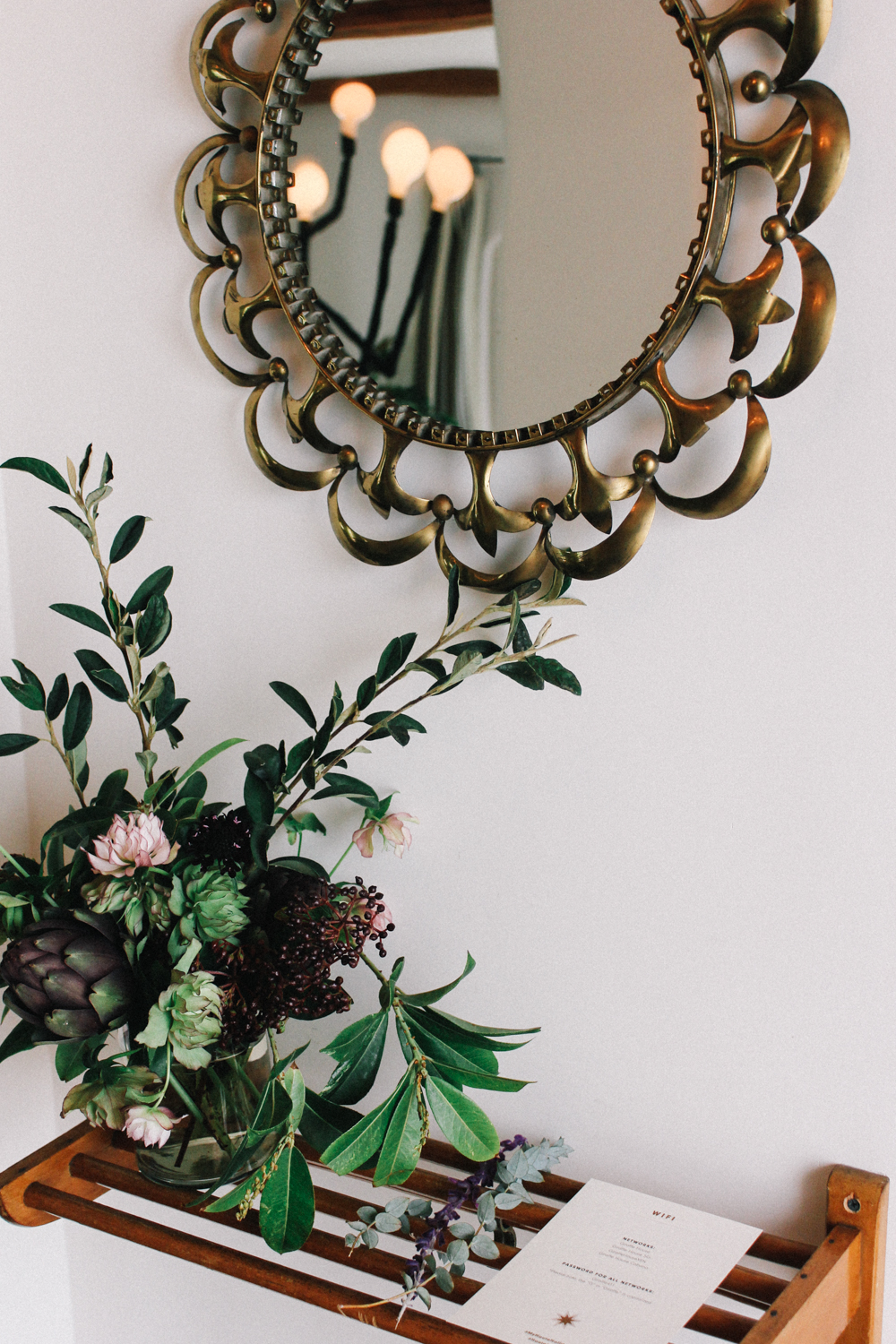 Flowers by Tigers to Lilies for the entryway | A Fabulous Fete
