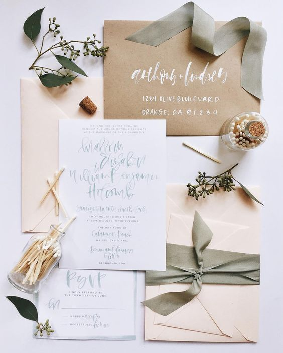 Kraft-Mint-Handlettered-Calligraphy-Wedding-Invitation-suite.jpg