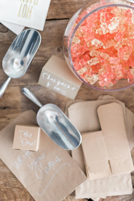 Sugarfina champagne gummy bears | A Fabulous Fete