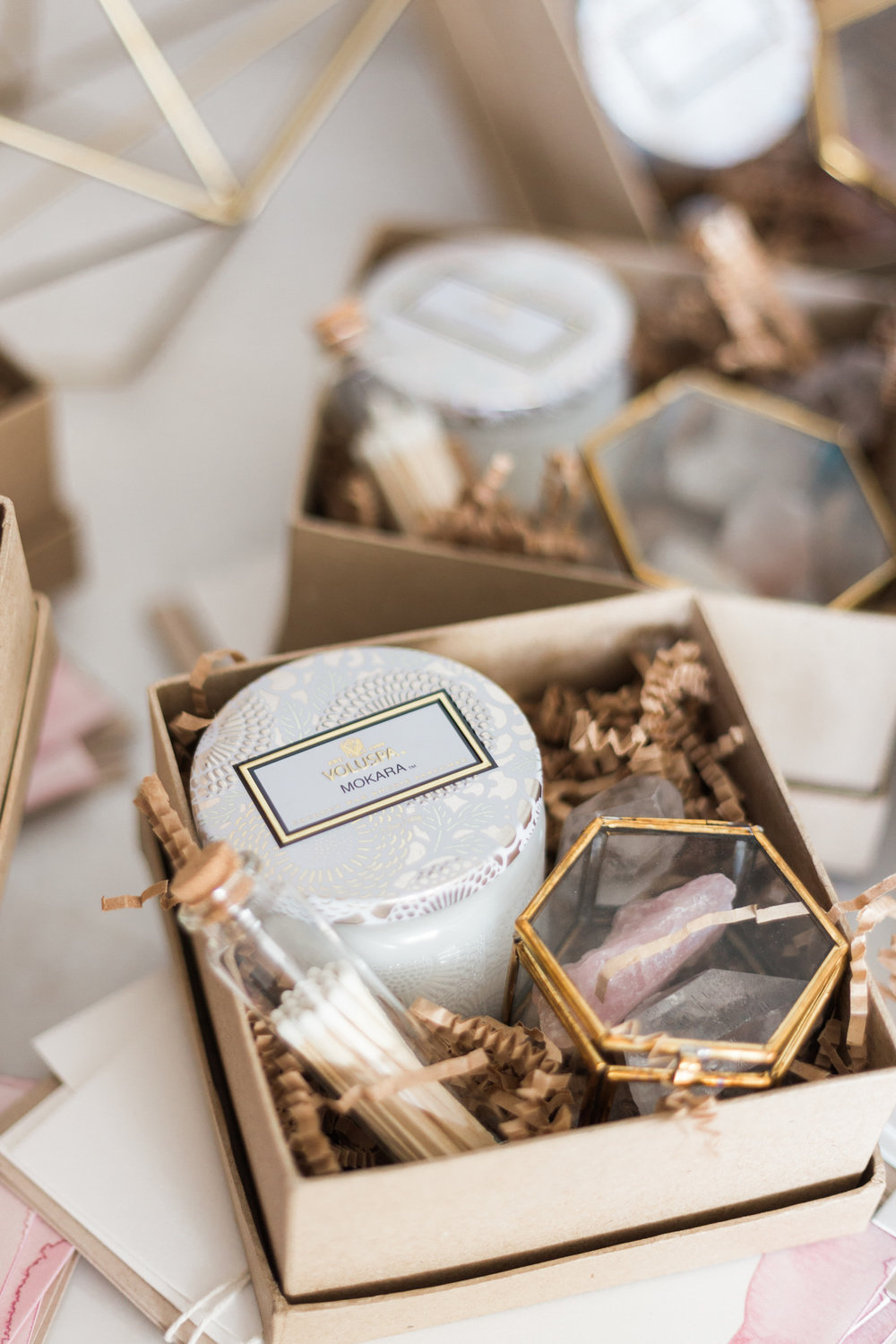 Mini gift boxes for the friends, fam + the team | A Fabulous Fete