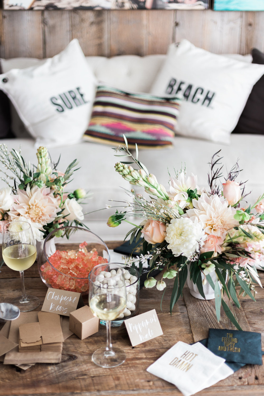 Billabong bungalow at Pacific Edge Hotel in Laguna Beach | A Fabulous Fete