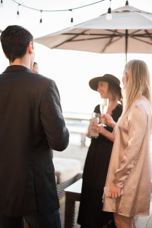 Sunset mingling | A Fabulous Fete