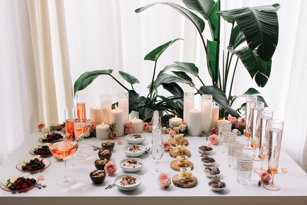 Break out of the norm and line up your snacks individually for your next party | A Fabulous Fete