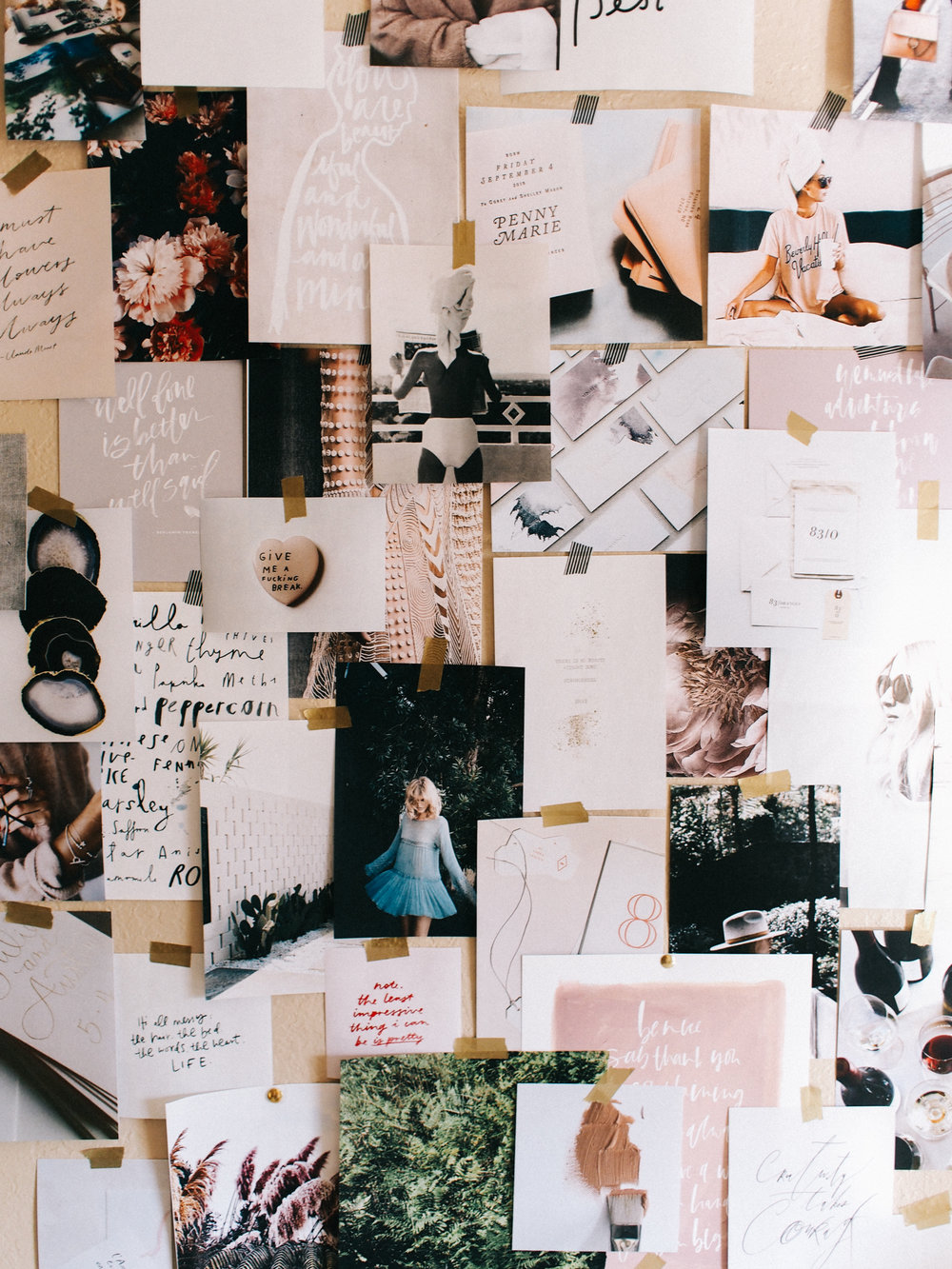Office Moodboard | A Fabulous Fete